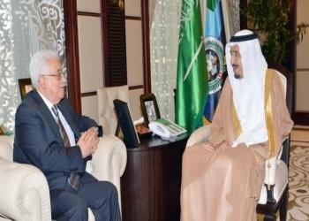 الأمير سلمان يبحث مع أبومازن أوضاع الأرض المُحتلة