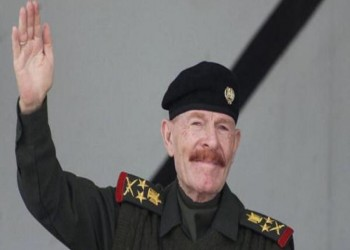 عزت الدوري يدعو إلى تحرير بغداد