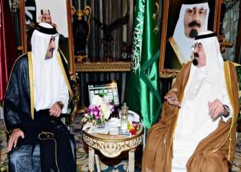 سعوديون يحتفون بزيارة أمير قطر للمملكة