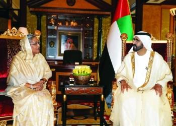 الإمارات وبنغلاديش توقعان اتفاقية تعاون أمني مشترك
