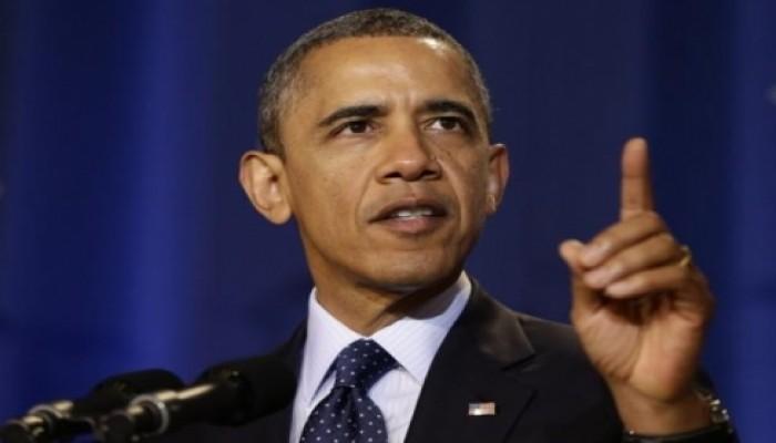 «أوباما» يتعهد بالتدخل البري إذا ثبت حصول «داعش» على «نووي»
