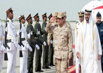 الاستثمارات الإماراتية في مصر تحصل علي مزايا «نصف الثمن» في عهد «السيسي»