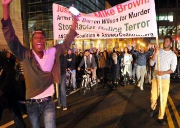 الولايات المتحدة.. «فيرغسون» تشتعل مجددا بعد تبرئة شرطي قتل شابا أسودا