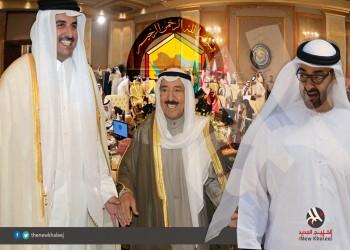 أبو ظبي تعين سفيرا لها في الدوحة وأمير قطر يتسلم أوراق اعتماده