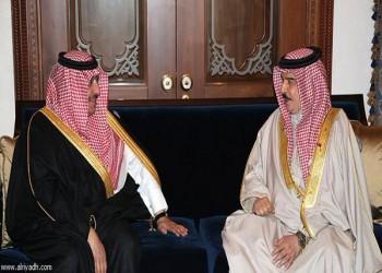 ملك البحرين يستقبل وزير الداخلية السعودي