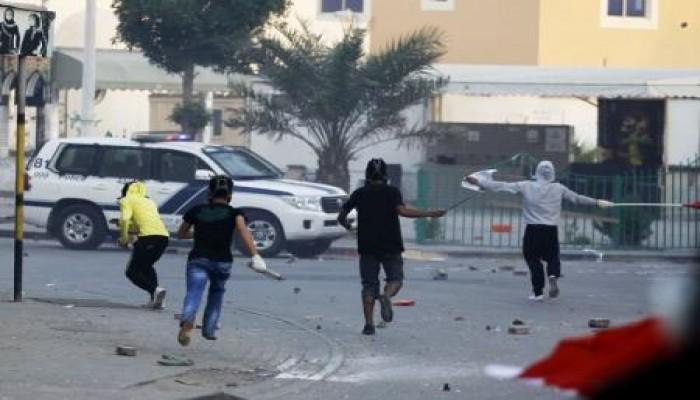 سقوط عدد من المصابين في اشتباكات بالبحرين