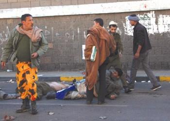 إقالة قيادات أمنية بعد تفجير كلية الشرطة بصنعاء .. و«هادي» يقرر اعتبار القتلي «ضباطا»
