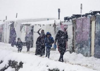 وكالات الاغاثة تستبعد نقل اللاجئين السوريين من مناطق ضربتها عاصفة