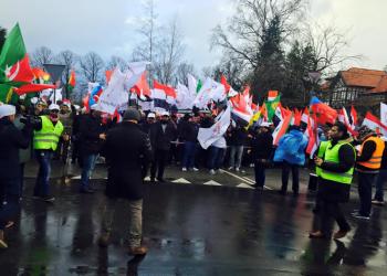 الأحواز ينظمون تظاهرة في الدانمارك تنديدا بـ«الاحتلال الإيراني وجرائمه»