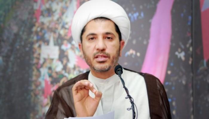 «علي سلمان» من محبسه: نطالب بحقنا المشروع في انتخاب الحكومة والبرلمان .. ولن نتوقف