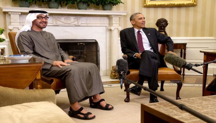 «العفو الدولية» تطالب «أوباما» بحث «محمد بن زايد» على إجراء إصلاحات لحقوق الإنسان