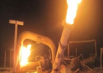 مصر: مجهولون يفجرون 3 خطوط غاز قرب كمين أمني بالبحيرة