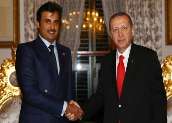 «أردوغان» يلتقي أمير قطر بإسطنبول