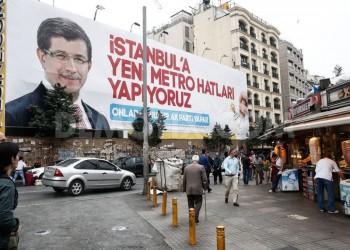 في الانتخابات التركية