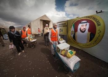 مؤسسة إماراتية تعلن بدء توزيع مليون سلة غذائية في محافظات مصر