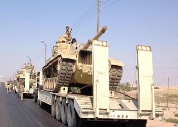 الاحتلال الإسرائيلي يوافق على زيادة أعداد القوات المصرية في سيناء