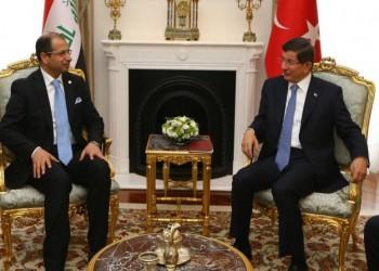 «داود أوغلو» يبحث مع رئيس البرلمان العراقي سبل مواجهة «الدولة الإسلامية»