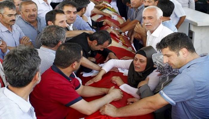 «العمال الكردستاني» يتبنى قتل شرطيين تركيين ردا على «هجوم سروج»
