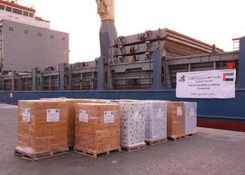 سفينة مساعدات إماراتية جديدة تصل إلى عدن اليمنية