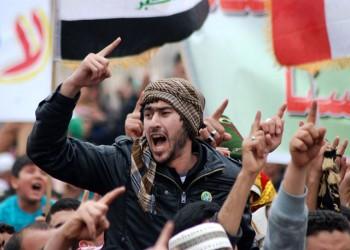 محتجون يعطلون حركة مرور الشاحنات بميناء أم قصر العراقي