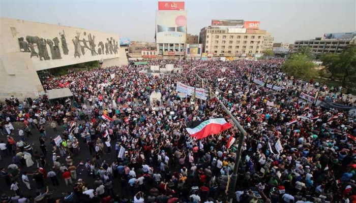 هـل هدف المتظاهرين في العراق تغيير هريرة؟