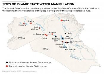 «ستراتفور»: حروب المياه التي يشنها تنظيم «الدولة الإسلامية»