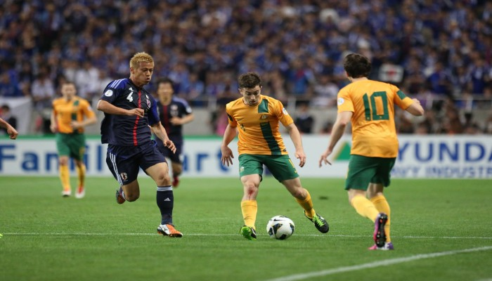 تحت أنظار السعوديين.. اليابان تصطدم باستراليا بمواجهة حسم التأهل