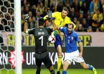 بالفيديو.. السويد تخطف فوزا ثمينا أمام إيطاليا بذهاب ملحق المونديال