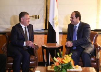 عاهل الأردن يبحث مع «السيسي» التطورات الفلسطينية