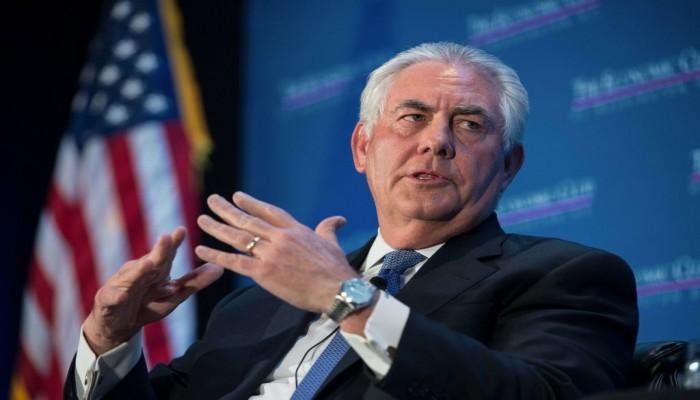 «تيلرسون» يدعو أوروبا لدعم أمريكا في سياستها ضد إيران