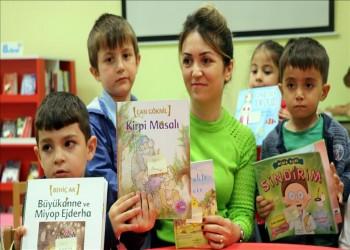 مكتبة تركية لا يعرف روادها القراءة!