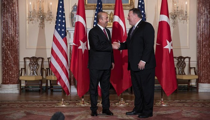 بدء مباحثات وزيري الخارجية التركي والأمريكي بواشنطن.. ومنبج تتصدر