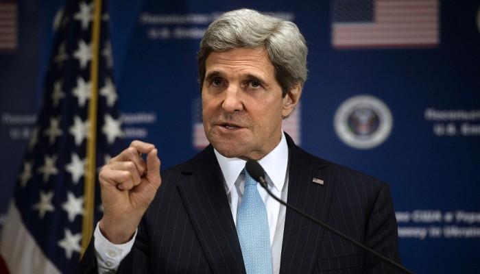 «كيري»: النظام السوري يشير إلى أنه يريد حلا عسكريا وليس سياسيا