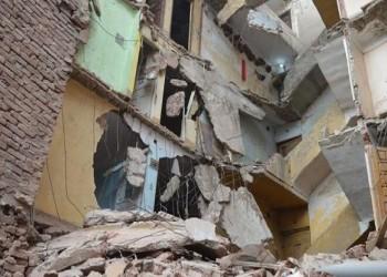 سقوط 10 ضحايا في انهيار عقار شرقي القاهرة