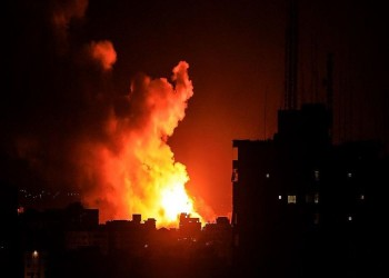 الاحتلال الإسرائيلي يقصف غزة دون إصابات