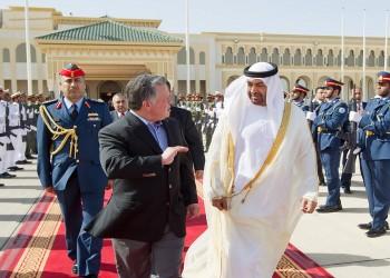 بن زايد يزور الأردن ويلتقي الملك عبدالله الثاني
