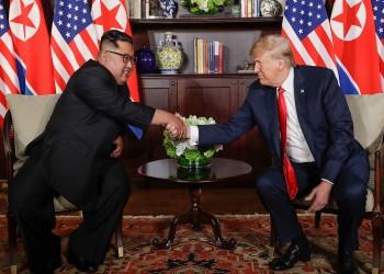 «ترامب» يشيد بمسار الاجتماعات الأمريكية مع كوريا الشمالية