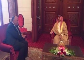 وزير الخارجية المصري ينقل رسالة لملك البحرين من «السيسي»