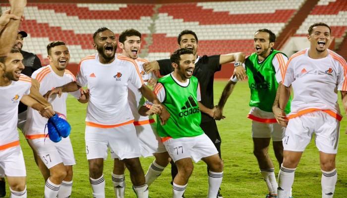 «عجمان» ينتصر و«دبي» ينهزم ويصعدا معا لـ«دوري الخليج العربي»