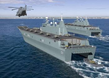 القوات البحرية المصرية تؤمن حقل «ظهر» شرقي المتوسط