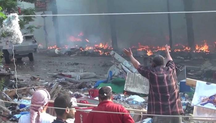 الرئاسة التركية: مذبحة «رابعة» نقطة سوداء في تاريخ مصر