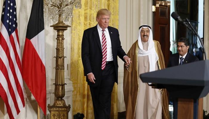 """أمير الكويت يستعد لزيارة أمريكا وإجراء مباحثات مع """"ترامب"""""""