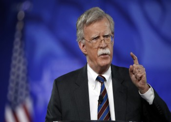 «بولتون»: من الممكن فرض عقوبات على الشركات الأوروبية التي تتعامل مع إيران