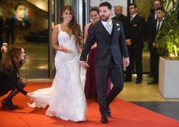بالصور.. حفل زفاف أسطوري لـ«ميسي» بمباركة نجوم العالم