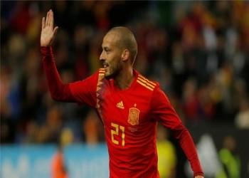 """رسميا.. الإسباني """"سيلفا"""" يعلن الاعتزال دوليا"""