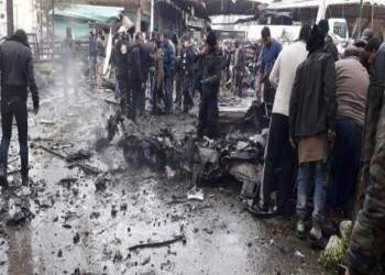 انفجار سيارة وسط عفرين السورية دون وقوع ضحايا