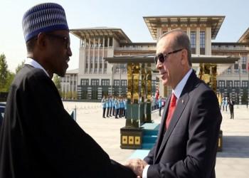 «أردوغان» يستقبل نظيره النيجيري.. ومباحثات عسكرية وأمنية على الطاولة