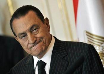 المخلوع «مبارك» يعود إلى منزله في مصر الجديدة
