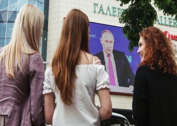 «بوتين» لا يستبعد فوز امرأة برئاسة روسيا لأول مرة