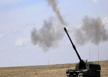 الجيش التركي يقصف مواقع للوحدات الكردية بتل رفعت شمالي سوريا